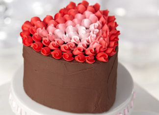 Kako napraviti tortu u obliku srca