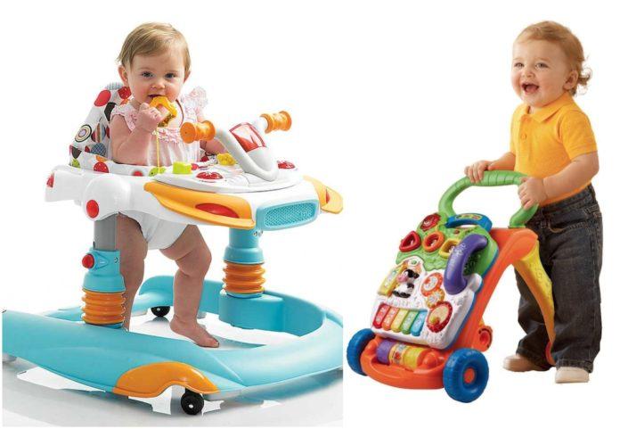 Šta je bolje: Guralica ili hodalica za bebe (dubak)?