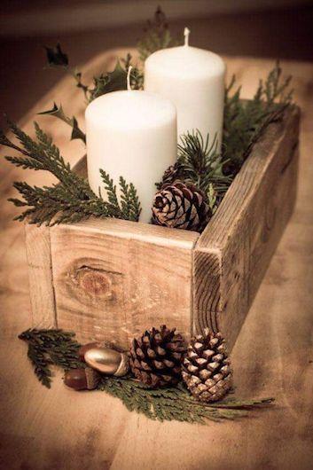 novogodišnji aranžmani i dekoracije - uradi sam - ideje mamaklik.com