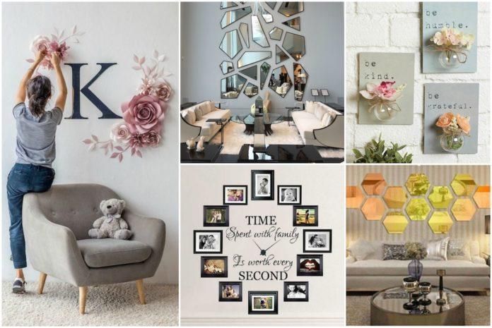 Zidni ukrasi i dekoracije kako napraviti za malo para mamaklik.com