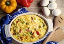 italijanski omlet fritata jaja feta paprike novi recepti mamaklik