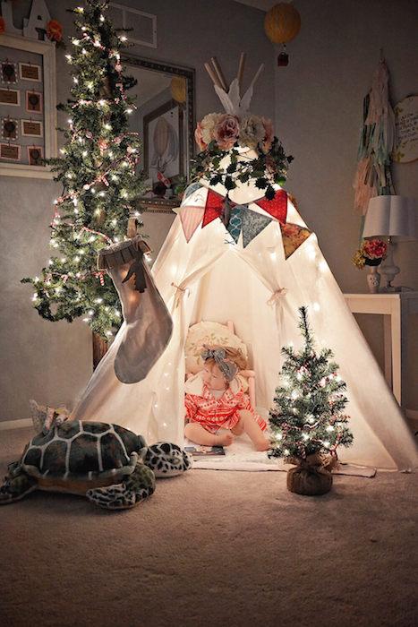 Šator jelka neobicne ideje mamaklik