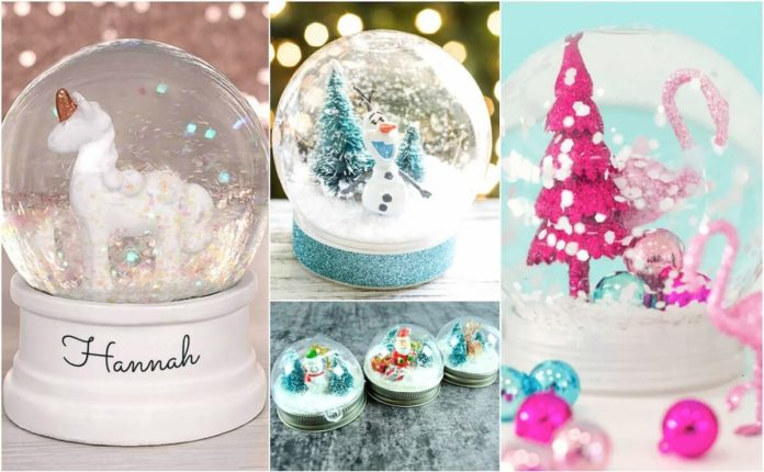Snježne kugle - Evo kako da ih napravite! mamaklik.com
