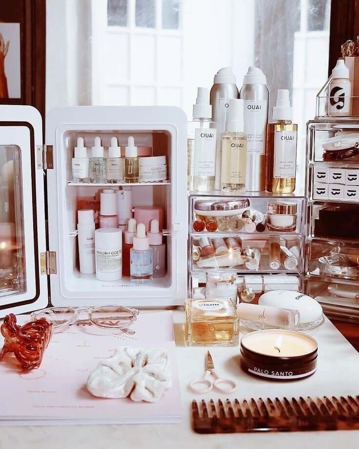 Zavirite u MAKEUP FRIŽIDER: Minijaturno čudo koje čuva kozmetiku