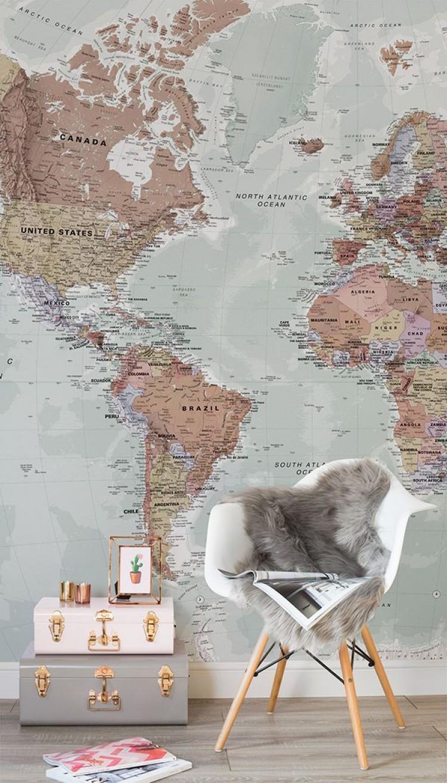mape za zid karte svijeta geografske karte